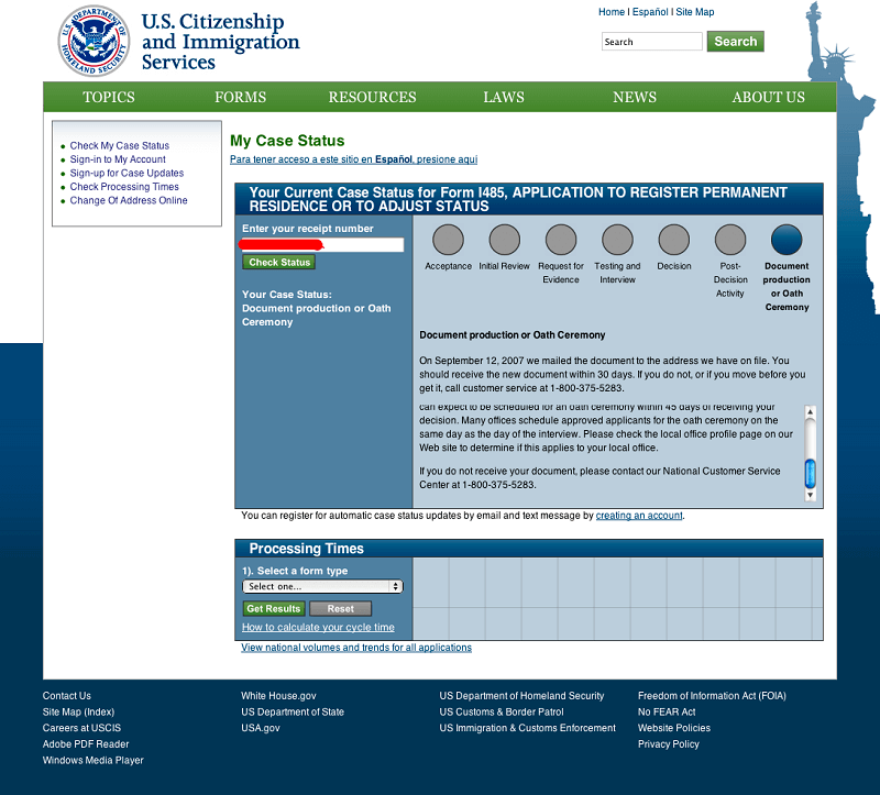 How to Check Your Immigration Status | US Immigration forms